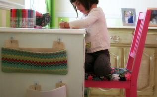 a desk for my little girl, bedroom ideas, home decor, painted furniture