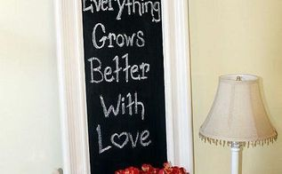 turn a mirror into a cafe chalkboard tutorial, chalkboard paint, painting, repurposing upcycling