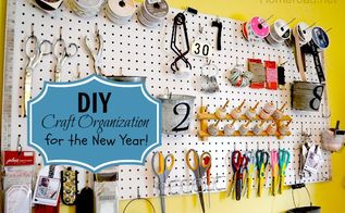 pegboard organization for the craft room, craft rooms, organizing, Visual organization is key