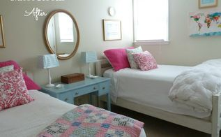 guest room reveal everything but the drapes, bedroom ideas, home decor, After