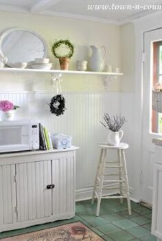 who else wants a summer fresh kitchen, home decor, kitchen design, Keep it light Swap out white or light colored accessories for darker ones that you use during winter months