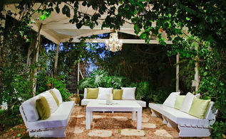 summer garden lighting, electrical, lighting, outdoor living