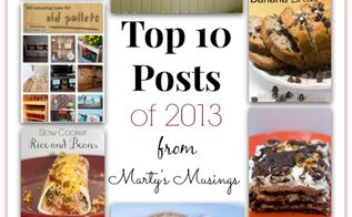 top 10 posts of 2013 from marty s musings, crafts, diy, how to, mason jars