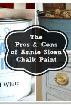 the pros amp cons of annie sloan chalk paint, chalk paint, painted furniture, I love ASCP and think it is really fun to work with