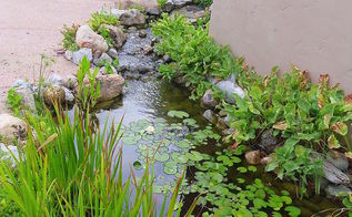 hader, landscape, outdoor living, ponds water features