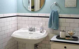 update to our bathroom renovation, bathroom ideas, home decor, Love the 1920 s mirrors with the scalloped edges