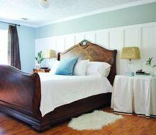 master bedroom update board amp batten tutorial on the blog, bedroom ideas, home decor, master bedroom board batten feature wall