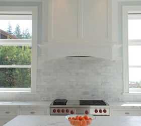 Christopher Peacock Scullery White Marble Kitchen | Hometalk