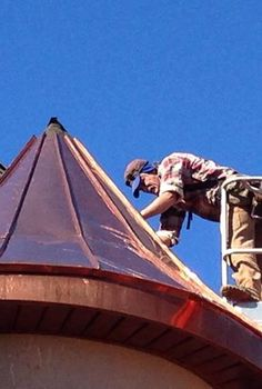 copper roofing, roofing