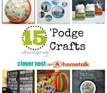 hometalk curated decoupage board, crafts, decoupage, Featuring some ultra inspirational decoupage Mod Podge crafts Come on over to be inspired