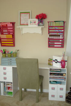 my favorite room craft room, craft rooms, painting, shelving ideas