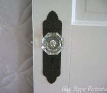 here s a chemical free way to restore your vintage door hardware, doors, Door hardware After