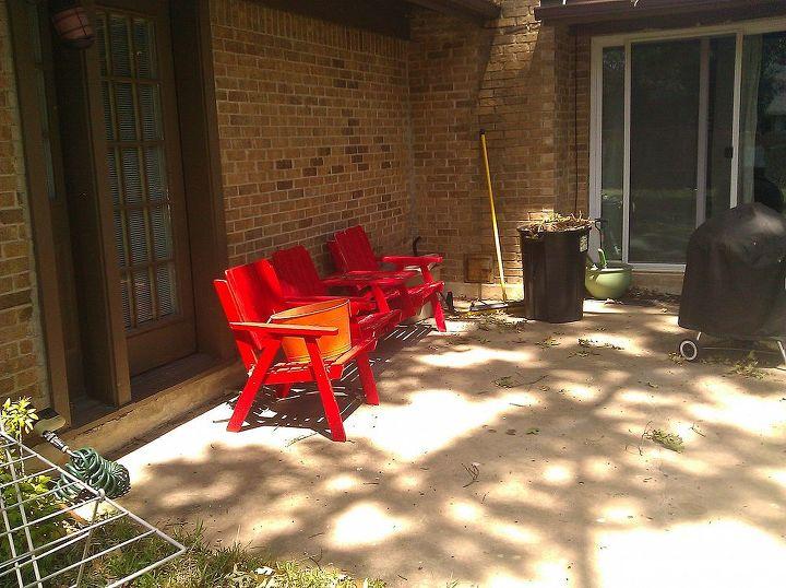 Diy Patio Bench Hometalk
