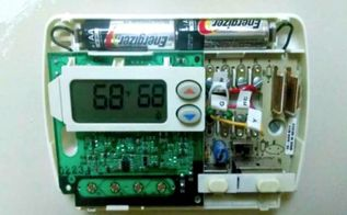 wifi thermostat troubleshooting, electrical, home maintenance repairs, hvac