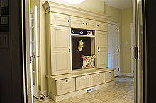 mudrooms are made for rainy days, home decor, laundry rooms