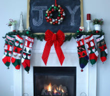 christmas mantel, chalk paint, chalkboard paint, christmas decorations, crafts, doors, seasonal holiday decor, wreaths, Total cost for this mantel 1 for the gold craft paint for the chalkboard frame Using items I already had around my home I was able to pull this together I love how the wreath makes such a statement