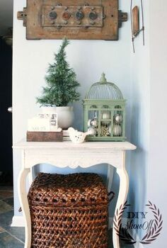 christmas in the sitting room, living room ideas, seasonal holiday decor, Christmas vignette