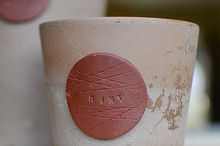 diy home fired clay plant tags, diy, gardening
