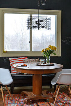 updating my froo froo dining room with an industrial schoolhouse look, dining room ideas, home decor