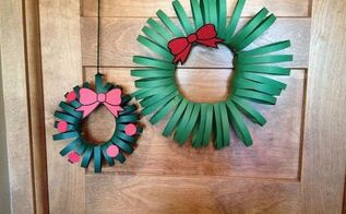 Paper Christmas Wreath 2016 Hometalk