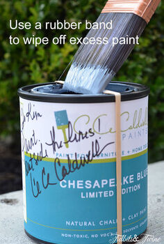 how to choose the perfect paint color 7 tips to make you an expert, painting, A tip to help keep your paint can clean