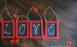 a fun chalkboard project that can last year round, chalk paint, chalkboard paint, crafts, seasonal holiday decor, valentines day ideas