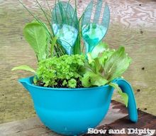 mother s day planters for that special mom, container gardening, gardening, repurposing upcycling