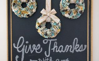 diy thanksgiving mini ruffled wreaths giveaway, crafts, seasonal holiday decor, thanksgiving decorations, wreaths