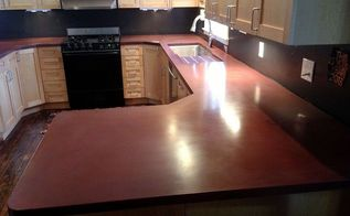 concrete countertops by burco surface amp decor, concrete masonry, concrete countertops, countertops, kitchen design, Burco Surface Decor concrete countertops