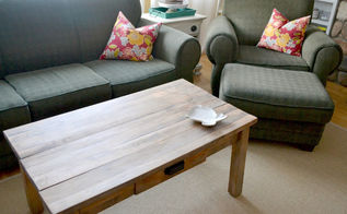 rustic diy coffee table, painted furniture, repurposing upcycling, rustic furniture, Looks perfect in my living room
