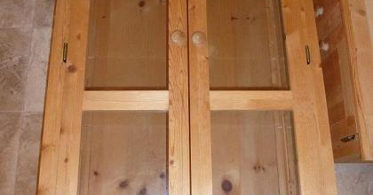 What Paint To Use On Unfinished Pine Cabinet For Rustic Look Hometalk