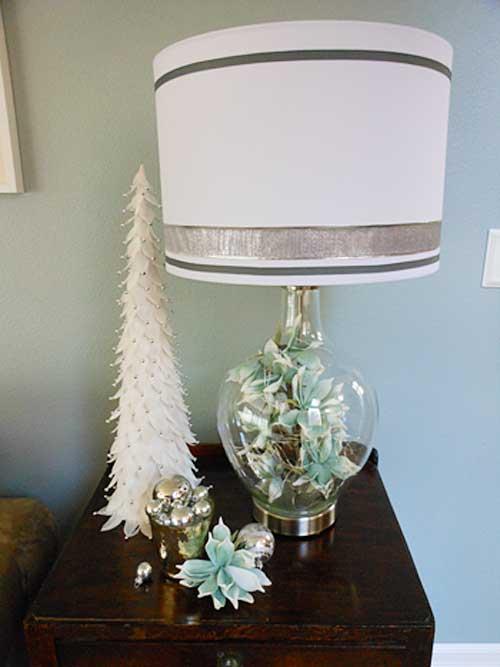 hometalk lamps plus holiday design challenge winter. Black Bedroom Furniture Sets. Home Design Ideas
