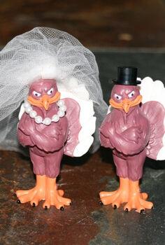 wedding flashback diy cake topper