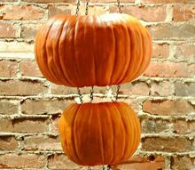 hanging pumpkin lantern, crafts, seasonal holiday decor, Customize your lantern by carving pumpkin faces or shapes