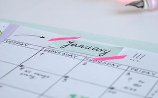 diy organizer planner, organizing