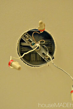 how to hardwire a plug in fixture, electrical, lighting