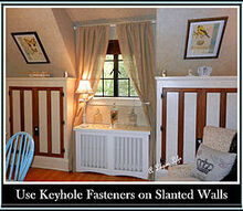 how to decorate slanted walls, home decor, wall decor