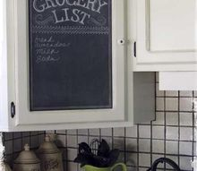 pier1 imports look for less, chalkboard paint, kitchen cabinets, kitchen design, painting