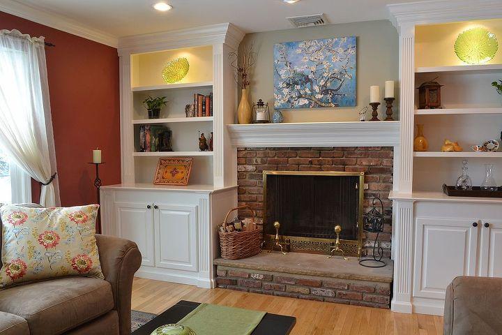 Custom Built Ins For Living Room Space Closet Fireplaces Mantels Ideas