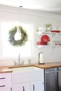 kitchen makeover, home decor, kitchen design, After of our new farmhouse kitchen