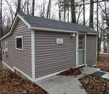 q small cabin leave it wood or go with paint and beadboard, home decor, paint colors, painted furniture, wall decor, Our 300 sq ft cabin on wooded lot by the lake
