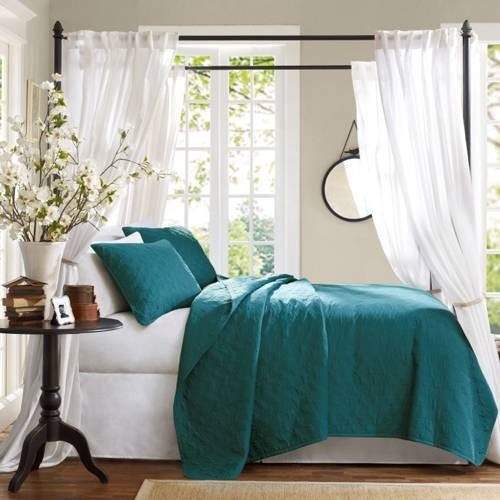 decorate with the blue and teal shades of the caribbean seas and brigh home decor - The Home Decorating Company