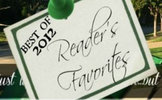 best of 2012 posts on curb alert, painted furniture, repurposing upcycling