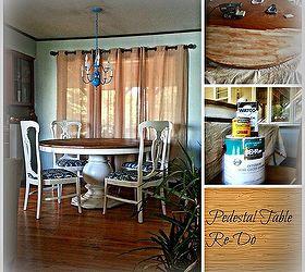 Craigslist Freebie Turned Amazing Dining Room Set for Under 100
