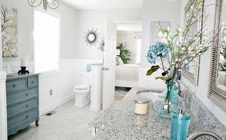 gorgeous bathroom makeover, bathroom ideas, home decor, home improvement, AFTER