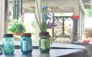 diy new mason jar look, crafts, mason jars, repurposing upcycling