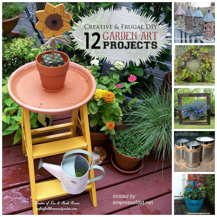 12 creative and frugal garden art projects under 20  crafts  flowers   gardening. 12 Creative and Frugal Garden Art Projects Under  20   Hometalk