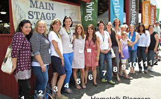 the country living fair, Bloggers please help me out with the missing names
