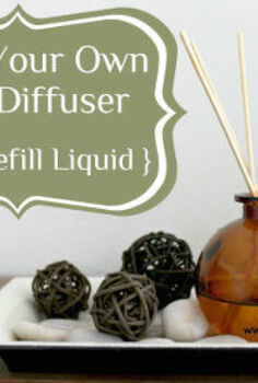 make your own reed diffuser refill liquid, crafts, home decor