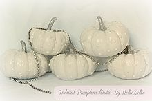 hobnail pumpkins, crafts